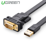 Price Ugreen 3M Usb To Rs232 Db9 Serial Cable With Ftdi Chipset Compatible With 8 7 Vista Xp 2000 And Mac Os On China