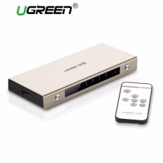 Ugreen 5 Ports Hdmi Switch Box Support 4K 3D 1080P With Wireless Remote Control For Ps4 Ps3 Xbox Blu Ray Skyq Box Tv Box Computer Etc Eu Plug Intl In Stock