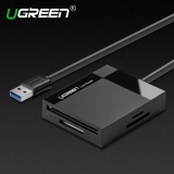 Where Can I Buy Ugreen All In 1 Usb 3 Card Reader Super Speed Tf Cf Ms Micro Sd Card Reader Multi Smart Memory For Computer Usb Card Reader 5M Cable Intl