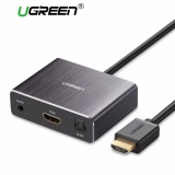 Price Ugreen Hdmi Audio Extractor Hdmi To Hdmi With Optical Toslink Spdif Audio Extractor Converter Hdmi Audio Splitter Adapter For Home Theater Application Blu Ray Dvd Player Xbox One Sky Hd Box Ps3 Ps4 Intl On China