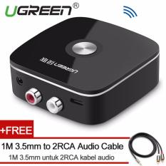 Buy Ugreen Mini Bluetooh 4 1 Audio Receiver 2Rca Wireless Music Adapter With 3 5Mm To 2Rca Audio Cable For Car Speaker Intl Ugreen Cheap