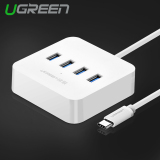 Best Reviews Of Ugreen Usb Type C 4 Ports Otg Hub With Led Indicator