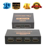 Price Uhd 3D 4K 2K Full Hd 1080P Hdmi Splitter 1X4 1X2 4 2 Port Hub Repeater Amplifier Intl Oem