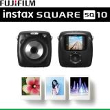 Coupon Fujifilm Instax Square 10 Sq10 Hybrid Instant Digital Camera Polaroid Instant Black Singapore Warranty