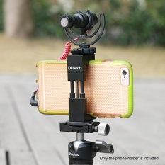 Deals For Ulanzi Adjustable Smartphone Clip Holder Clamp Bracket Aluminum Alloy With Cold Shoe Mount 1 4 Scr*w Hole For Iphone 7 7 Plus 6 6S 6 Plus Intl