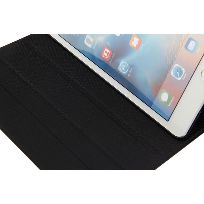 Ultra Aluminum Bluetooth Keyboard with Leather Case Cover For ipad mini1/2/3 BU - intl Singapore