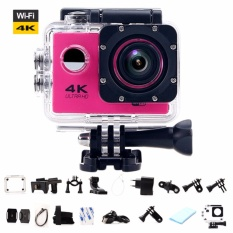 Sale Ultra Hd 4K Wifi Action Camera Sport Dv Lcd 170D Len Helmet Camera Underwater Go Diving Waterproof Pro Camcorder 1080P 16Mp Camera Intl