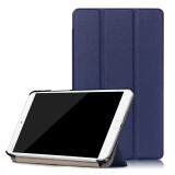 Sale Ultra Slim Tri Fold Hard Pc Soft Pu Leather Stand Flip Folio Shockproof Cover With Stand Function For Huawei Mediapad M3 8 4 Inch Tablet Intl Oem Cheap