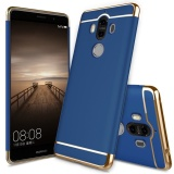 Sale Ultra Thin 3 In 1 Anti Scratch Shockproof Electroplate Frame Slim Scratch Resistant Detachable Protective Metal Texture Hard Back Case Cover For Huawei Mate 9 Blue Intl Online China