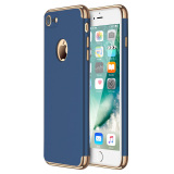 Retail Ultra Thin 3 In 1 Combo Matte Case Hard Cover For Apple Iphone 7 4 7 Blue