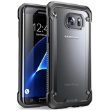 Unicorn Beetle Series Premium Hybrid Protective Clear Case For Samsung Galaxy S7 Edge 2016 Release Black Coupon Code
