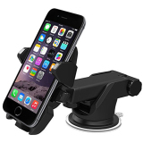 Wholesale Universal 360°Rotation Automatic Locked Car Phone Holder Bracket Stand Windshield Mount For Gps Mobile Phone Holder Intl