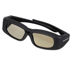 Buy Universal 3D Tv Glasses Bluetooth Active Shutter Black China
