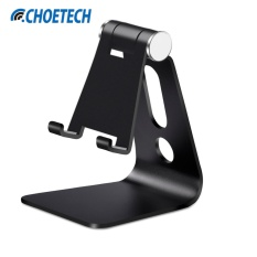 Discount Universal Adjustable Aluminum Phone Desk Stand Holder Black Choetech Multi Angle Foldable Stand For Iphone For Samsung For Xiaomi For Huawei And Other 3 5 8 4 Inches Smartphones And Tablets Intl Choetech