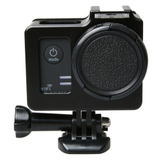Buy Universal Aluminum Alloy Protective Case With 40 5Mm Lens Diameter Lens Protective Cap For Sjcam Sj5000 Sj5000X Sj5000 Wifi Sport Action Camera Black Intl China