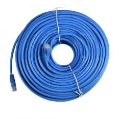 Universal CAT 6 Ethernet Network LAN Patch Cable Cord Line 250MHz RJ45 Blue 50m/164ft