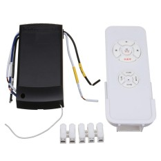 New Universal Ceiling Fan Lamp Light Timing Wireless Remote Control Receiver Kit Intl