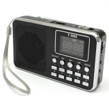 Retail Universal Mini Portable Home Digital Stereo Speaker Radio Tf Card Fm Radio Mp3