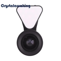 Universal Portable Mobile Phone Camera Lens 10led Flash Selfie Fill Light - Intl By Crystalawaking.
