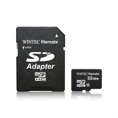 Retail Usa Wintec Filemate Microsd Card 32Gb Class 10 With Sd Adapter Retail