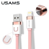 Shop For Usams U Like Series 5M Zinc Alloy 2 1A Usb Charger Cable For Iphone Ipad Mini And Other Device Intl