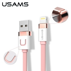 Retail Price Usams U Like Series 5M Zinc Alloy 2 1A Usb Charger Cable For Iphone Ipad Mini And Other Device Intl