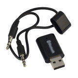 Price Usb Bluetooth 3 5Mm Audio Stereo Music Receiver For Iphone 4 5 Car Mp3 Black Oem