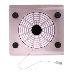 New USB Cooling Big Fan LED Light Cooler Pad For Laptop PC Notebook(Random) - intl
