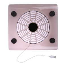 Laptop PC Notebook USB Cooling Big Fan LED Light Cooler Pad (Random)