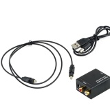 Buy Usb Data Charger Cable Lead Digital Optical Coaxial Toslink Signal To Analog Audio Converter Intl Oem Online