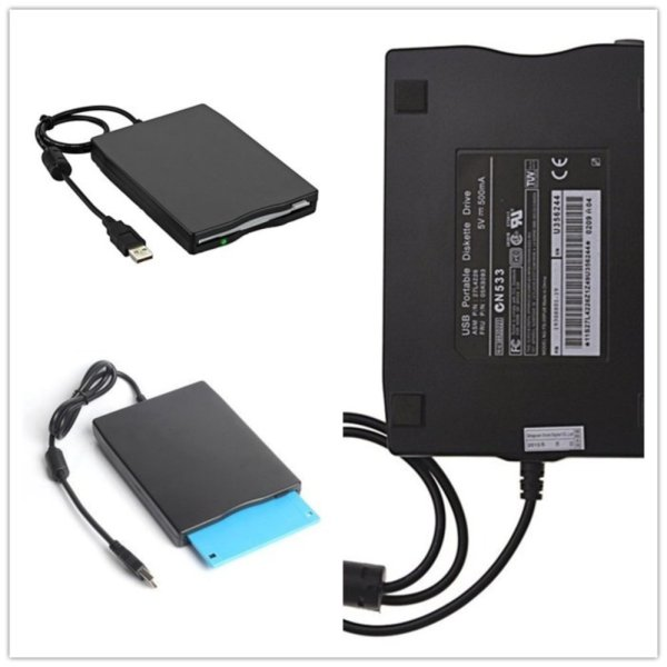 USB Floppy Disk 3.5 1.44 MB FDD Floppy Disk Drive External Portable USB Floppy Disk Reader Plug and Play for Laptop PC MAC Windows 10 Windows 8 7 VISTA XP ME 2000 SE 98 - intl