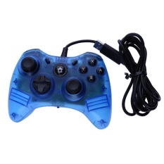 Usb Wired Game Controller Gamepad Joystick For Nintendo Console Pc Blue Intl Shopping