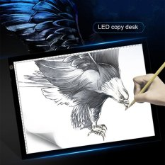 Cheap Ustore A3 Portable Led Drawing Board Eyesight Protection Touch Dimmable Tracing Table White Black Intl Online