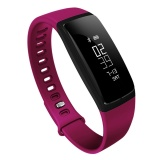 V07 Heart Rate Blood Pressure Smart Wristband Usb Charging Plug Sleep Monitor Bracelet Purple Intl On Line