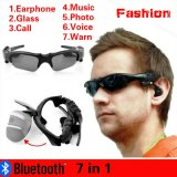Price V4 1 Outdoor Sports Bluetooth Earphone Glasses Stereo 7 In 1 Photo Call Music Voice Warn Smart Glasses Color Grey Intl Oem China