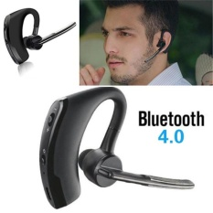 Review V8 Handsfree Wireless Stereo Headset Bluetooth Business Headphones Car Driver Earphone With Mic For Smartphones Intl Shuua