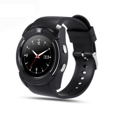 Buy V8 Smart Watch Clock With Sim Tf Card Slot Bluetooth For Android And Ios Intl On China