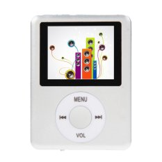 Vakind Slim 8Gb 1 8 Lcd Mp4 Media Mp3 Player Radio Silver On Line