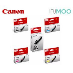 New Value Pack Canon Pgi 770Xl Cli 771Xl For Canon Pixma Mg5770 6870 7770 Ink Cartridge Black And Color