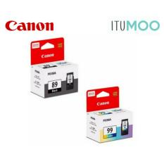Buy Value Pack Original Canon Pg 89 Cl 99 For Canon Pixma E560 Ink Cartridge Black And Colour Canon Online