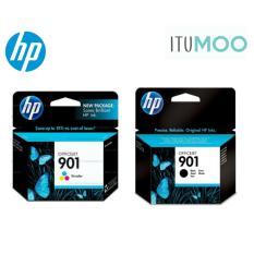 Review Value Pack Original Hp 901 Ink Cartridge For For Hp Oj 4500 J4540 J4550 J4580 J4680 Black And Color On Singapore