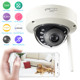 Vandalproof Wireless P2P Wifi Ip Camera 1 4 Cmos 1 Megapixel 720P Plug Play Onvif H 264 12 Led Ir Cut Night Vision Motion Detection Email Alarm 802 11 B G N Tomnet Intl Oem Discount