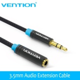 Buy Vention Vab B06 5M Jack 3 5Mm Male To Female Audio Cable Headphone Aux Audio Extension Cable 3M 5M For Computer Headphone Cellphone Dvd Mp4 Intl China