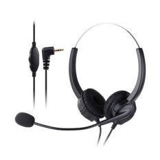 Buy Vh530D Professional Telephone Headset Clear Voice Noise Cancellation Customer Service Wired Head Mounted Headphone 2 5Mm Earphone Jack For Call Center Digital Telephone Intl Not Specified Cheap