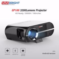 Cheap Vivibright Gp100 3200 Lumens Projector Android Version Intl