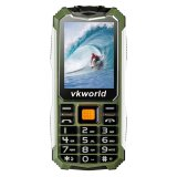 Where To Shop For Vkworld V3S Long Standby 2 4 Gsm Phone W 3Mp Camera Army Green