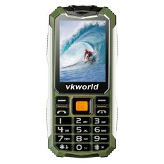 Cheaper Vkworld V3S Long Standby 2 4 Gsm Phone W 3Mp Camera Army Green