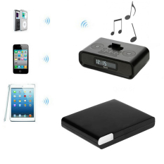 Vococal 30 Pin A2DP Wireless Bluetooth Audio Receiver Adapter for Apple Dock Speaker (Black)