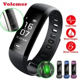 Compare Price Volemer R5Max M2 Pro Smart Fitness Bracelet Watch Smartband Intelligent Display Blood Pressure Blood Oxygen Heart Rate Monitor Black Intl On China