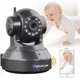Vstarcam C7837Wip P2P Hd 720P Wireless Wifi Ip Camera Night Vision Two Way Voice Network Indoor Cctv Onvif Multi Stream Baby Monitor Mobile Phone Remote Monitoring Black Intl Best Price